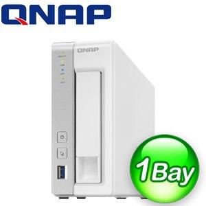 QNAP 威聯通 TS~131P 1Bay NAS 儲存伺服器