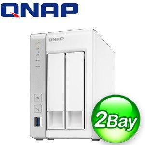 QNAP 威聯通 TS-231P 2Bay NAS網路儲存伺服器