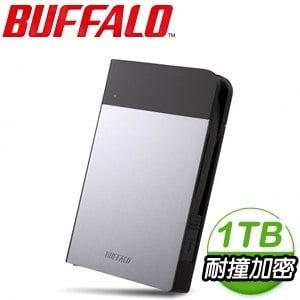 Buffalo 巴比祿 PZFU3 1TB USB3.0 2.5吋 外接硬碟《銀》