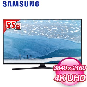 【SAMSUNG三星】55型4KUHD聯網液晶電視(UA55KU6000W)