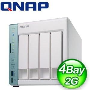 QNAP 威聯通 TS-451A-2G 4Bay NAS網路儲存伺服器