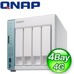 QNAP 威聯通 TS-451A-4G 4Bay NAS網路儲存伺服器