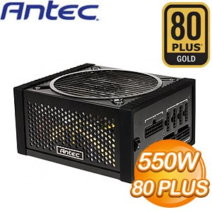ANTEC 安鈦克 EDGE 550W 全模組化 金牌80+ 電源供應器