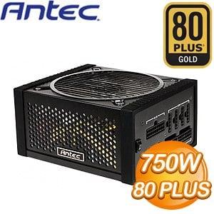 ANTEC EDGE 750W 全模組化 金牌80+ 電源供應器