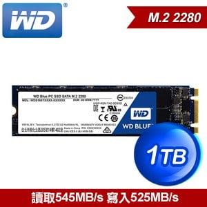 WD 威騰 SSD 1TB M.2 2280 SATA 固態硬碟《藍標》