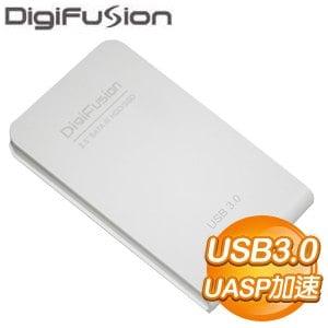伽利略 329U3SA USB3.0 2.5吋 SATA3 硬碟外接盒《白》
