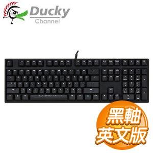 Ducky創傑 DK2108 Zero 黑軸 二色鍵帽 機械式鍵盤《英文版》