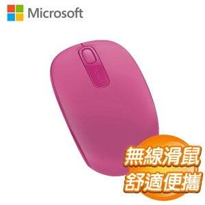 Microsoft 微軟 1850無線行動滑鼠《桃花粉》