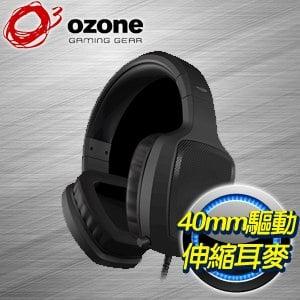 OZONE RAGE Z50 電競耳麥~黑~
