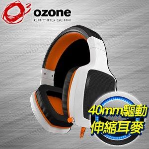 OZONE RAGE Z50 電競耳麥~白~