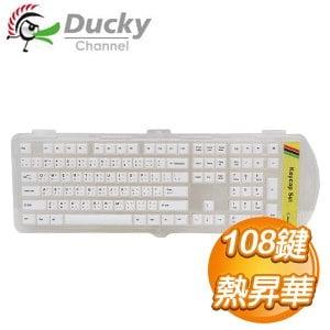 Ducky創傑 108鍵 PBT熱昇華鍵帽組《復古4色》