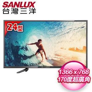 【SANLUX台灣三洋】24型 LED背光液晶顯示器(SMT-24MA1)