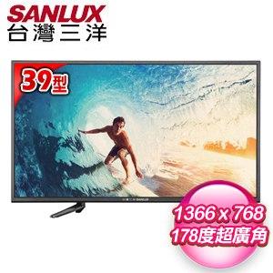 【SANLUX台灣三洋】39型 LED背光液晶顯示器(SMT-39MA1)