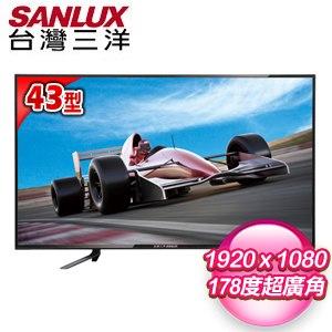 【SANLUX台灣三洋】43型 LED背光液晶顯示器(SMT-43MA1)