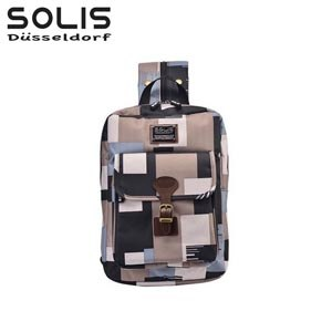【SOLIS】City Classic平板電腦背包-雲豹迷彩Camouflage-戰地灰(B0902002)