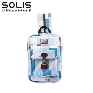 【SOLIS】City Classic平板電腦背包-雲豹迷彩Camouflage-天棧藍(B0902003)