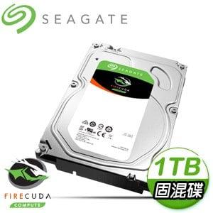 Seagate 希捷 火梭魚 1TB 7200轉 64MB SATA3 固態混合碟(ST1000DX002-5Y)