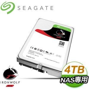 希捷 那嘶狼 4TB 5900轉 NAS專用硬碟(ST4000VN008)
