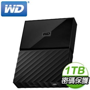 WD 威騰 My Passport 1TB USB3.0 2.5吋行動硬碟《靚黑》