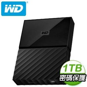 WD 威騰 My Passport 1TB USB3.0 2.5吋外接硬碟《靚黑》★送硬碟保護包