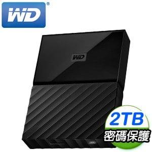 WD 威騰 My Passport 2TB USB3.0 2.5吋行動硬碟《靚黑》
