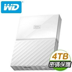 WD 威騰 My Passport 4TB USB3.0 2.5吋外接硬碟《淨白》★送硬碟保護包