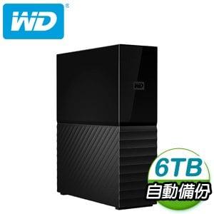 WD 威騰 My book 6TB USB3.0 3.5吋外接硬碟(WDBBGB0060HBK-SESN)