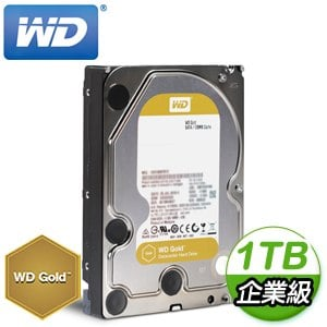 WD 威騰 1TB 3.5吋 7200轉 128MB快取 金標企業級硬碟(WD1005FBYZ)