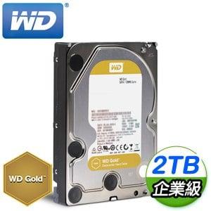 WD 威騰 2TB 3.5吋 7200轉 企業級資料中心硬碟《金標》WD2005FBYZ-5Y