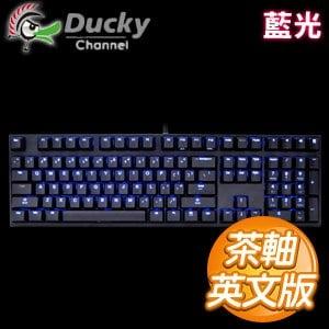 Ducky創傑 NEW DK2108SZ 茶軸 藍光 ABS鍵帽 機械式鍵盤~英文版~