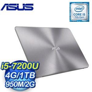ASUS 華碩 UX510UX-0091A7200U 15吋筆記型電腦《金屬灰》
