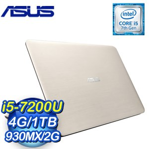 ASUS 華碩 X556UR-0191C7200U 筆記型電腦《霧面金》