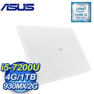 ASUS 華碩 X556UR-0203G7200U 筆記型電腦《天使白》