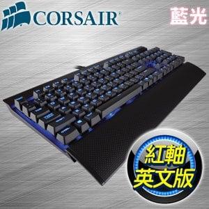 Corsair 海盜船 復仇者 K70 LUX 紅軸 藍光 機械鍵盤《英文版》