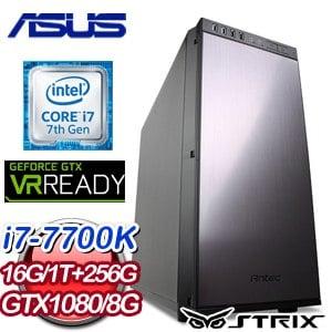 華碩 Z170 平台【亢龍有悔】Intel i7-7700k GTX1080 O8G 電競VR虛擬實境機