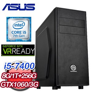 華碩 H170 平台【時乘六龍】Intel i5-7400 GTX1060 O3G 獨顯高效能電腦