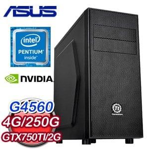華碩 H110 平台【青花瓷】Intel G4560 GTX750TI PH 2GD5 超值文書機