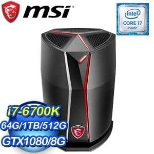 MSI 微星 Vortex G65VR 6RF-081TW-GB7670K64G1T0DX10MH 桌上型電腦