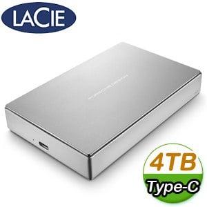 LaCie Porsche Design 4TB USB3.0 TypeC 2.5吋外接硬碟