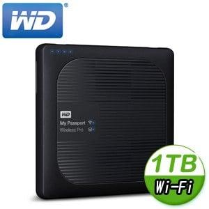 WD 威騰 My Passport Wireless Pro 1TB 2.5吋 Wi-Fi外接硬碟