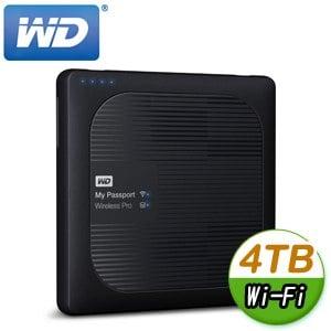 WD 威騰 My Passport Wireless Pro 4TB 2.5吋 Wi-Fi外接硬碟