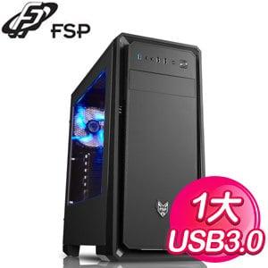 FSP 全漢【聖俠士】ATX電腦機殼《黑》