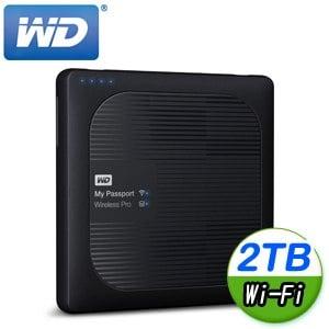 WD 威騰 My Passport Wireless Pro 2TB 2.5吋 Wi-Fi外接硬碟