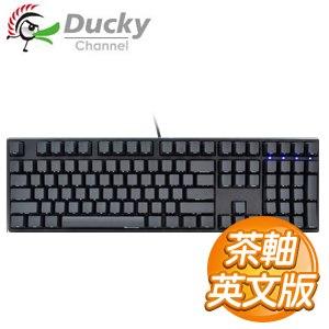Ducky 創傑 ONE PBT 側印版 茶軸 機械式鍵盤《英文版》
