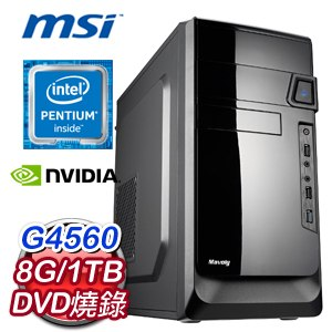 微星 MANAGER【煙籠寒水月籠沙】Intel G4560  1TB 伴讀文書機