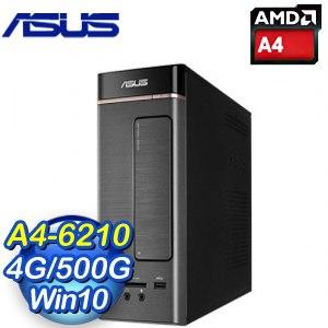 ASUS 華碩 K20DA-0131A621UMT 桌上型電腦(A4-6210/4G/500GB/WIN10)