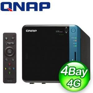 QNAP 威聯通 TS-453B-4G 4Bay NAS網路儲存伺服器