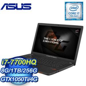 ASUS 華碩 GL753VE-0021B7700HQ 17吋筆記型電腦