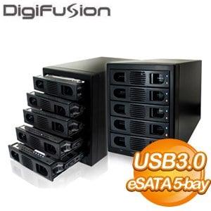 伽利略 五層RAID硬碟外接盒(35D-U3ES5R)