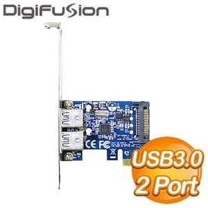伽利略 PCI-E USB3.0 2 Port 擴充卡(PTU302A)